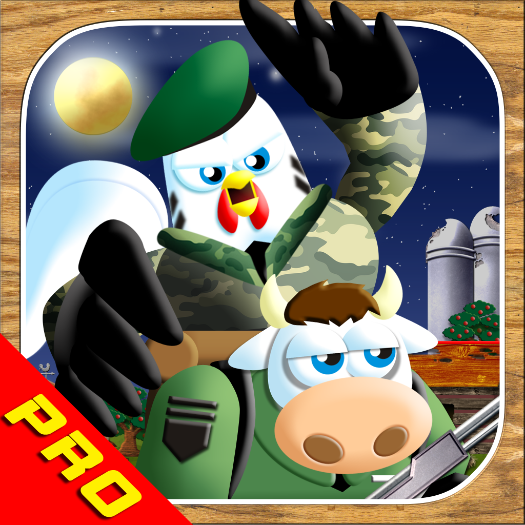 Stealth Chicken Ops PRO!: The Bravest Little Commander's Farm Trooper Rescue