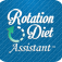 Rotation Diet Assistant logo